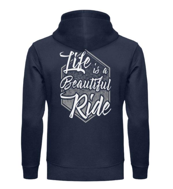 Cars Sucks - Life is a beautiful Ride - Unisex Organic Hoodie-6887