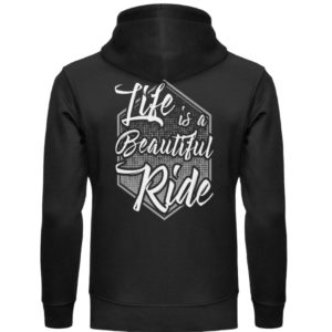 Cars Sucks - Life is a beautiful Ride - Unisex Organic Hoodie-16