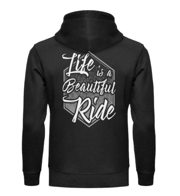 Cars Sucks - Life is a beautiful Ride - Unisex Organic Hoodie-16