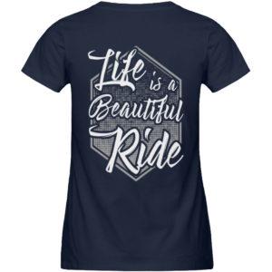 Cars Sucks - Life is a beautiful Ride - Damen Premium Organic Shirt-6887