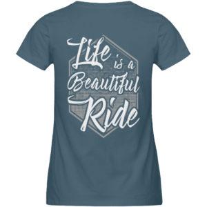 Cars Sucks - Life is a beautiful Ride - Damen Premium Organic Shirt-6895