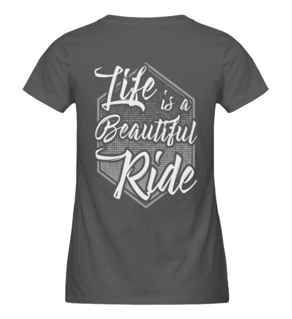 Cars Sucks - Life is a beautiful Ride - Damen Premium Organic Shirt-6896