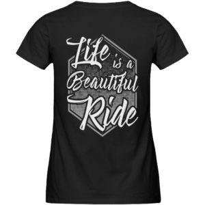 Cars Sucks - Life is a beautiful Ride - Damen Premium Organic Shirt-16