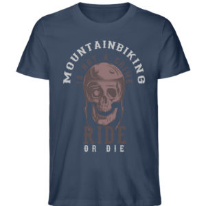 MTB is not a crime - Herren Premium Organic Shirt-7058